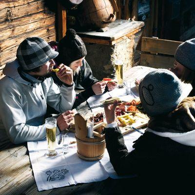 Kulinarik im Skigebiet